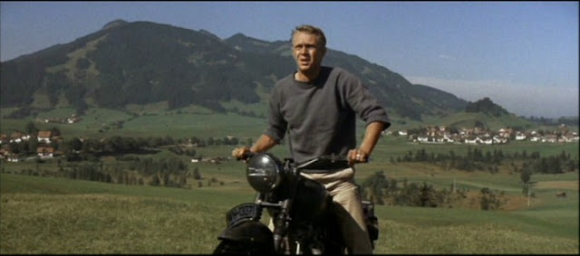 Steve McQueen realizes he just pooped his pants.