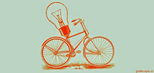 La vida es como montar en bicicleta. Para avanzar, hay que seguir pedaleando