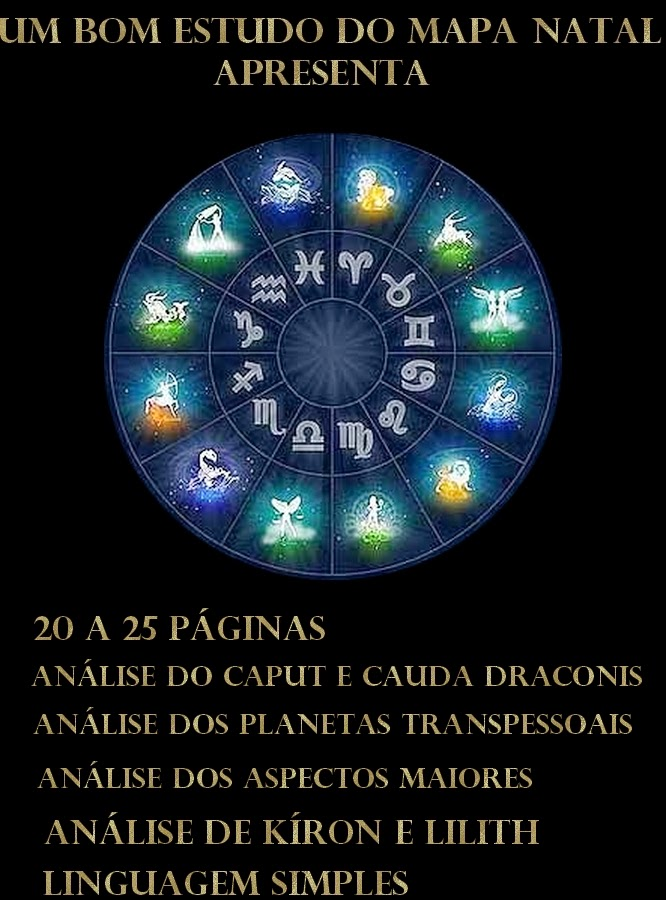 Mapa natal, mapa astrológico, mapa astral, zodiaco