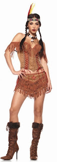 Indian Princess Adult Thanksgiving Day Costume