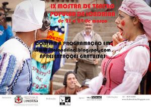 Mostra Nacional de Teatro Popular 2013