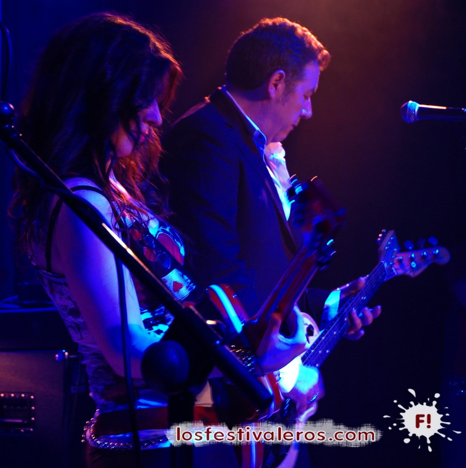 Susan Santos, Sala El Sol, Electric Love, concierto, Carlos Goñi, Revólver