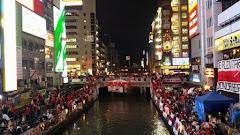 Banderazo histórico en Osaka