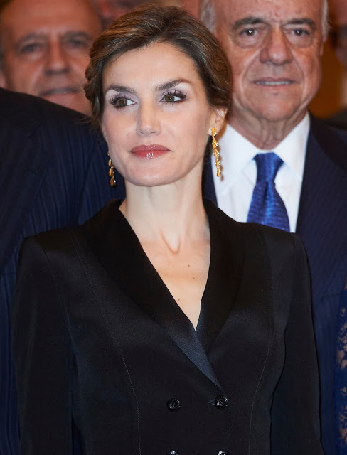 Queen Letizia And King Felipe Attend Francisco Cerecedo Awards