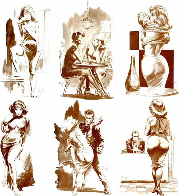Frank Frazetta pin up