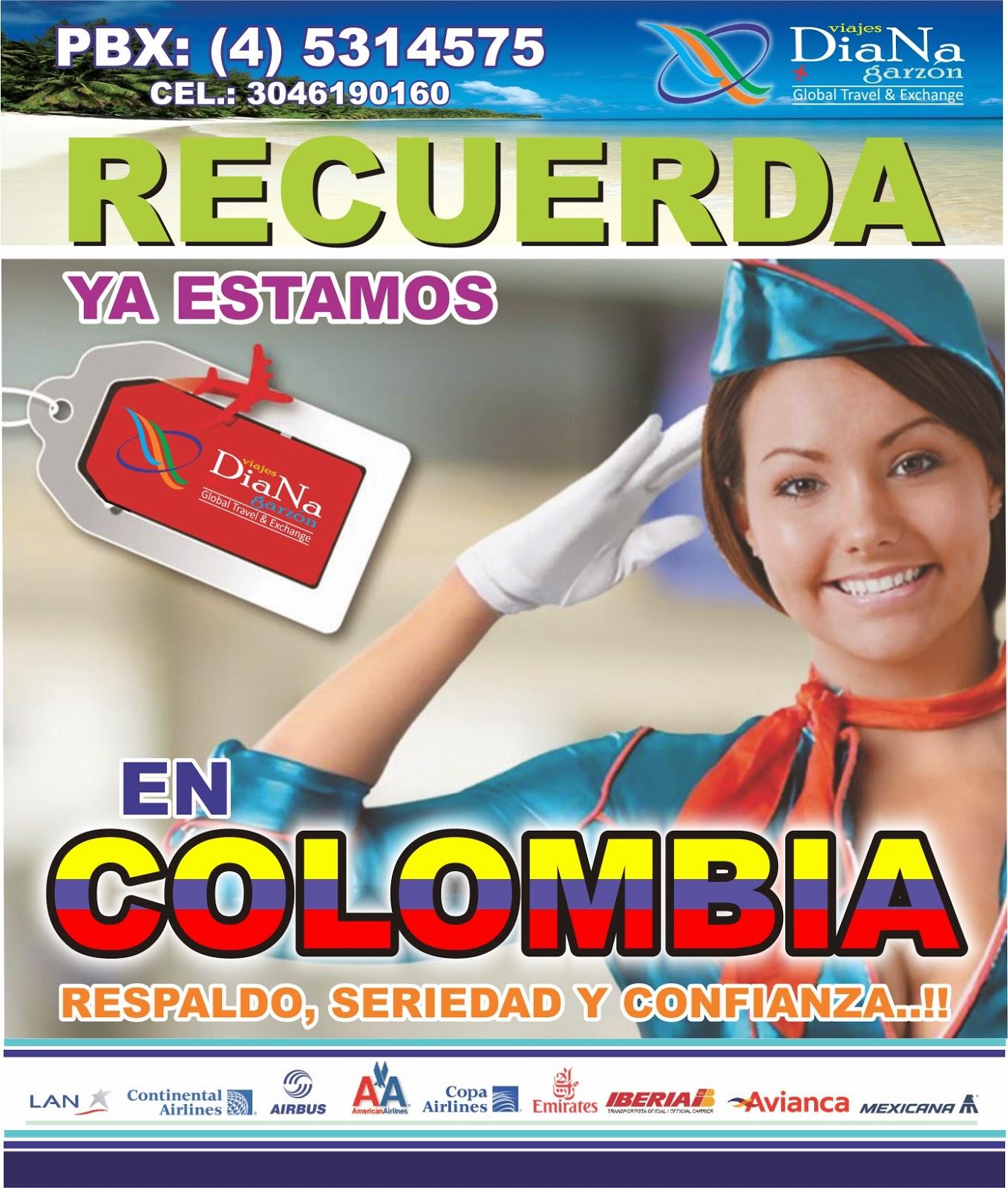 Viajes diana garzon su agencia de viajes en colombia y - Agencia de viajes diana garzon ...