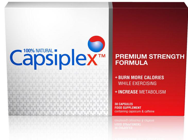 capsiplex, a base di un estratto di peperoncino, pepe nero e caffeina