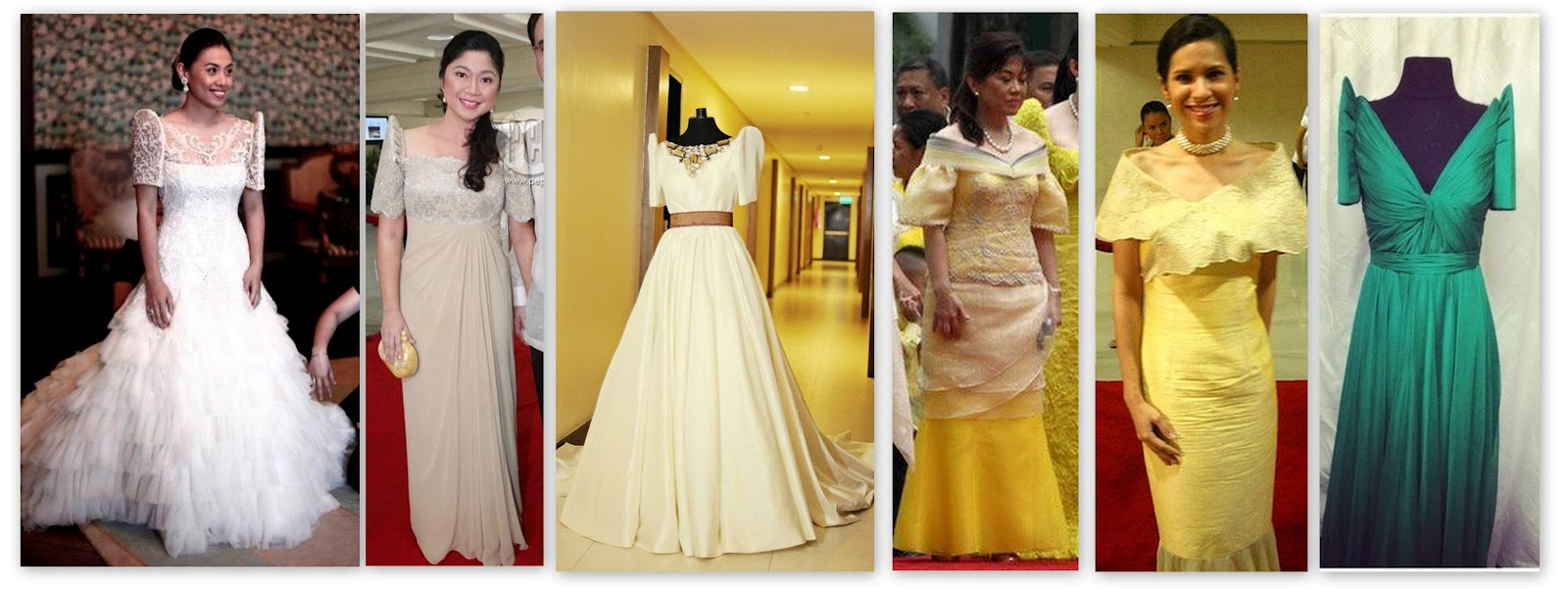 Filipiniana Terno Dress http://scribblesfromthesouth.blogspot.com/2012/09/filipiniana.html