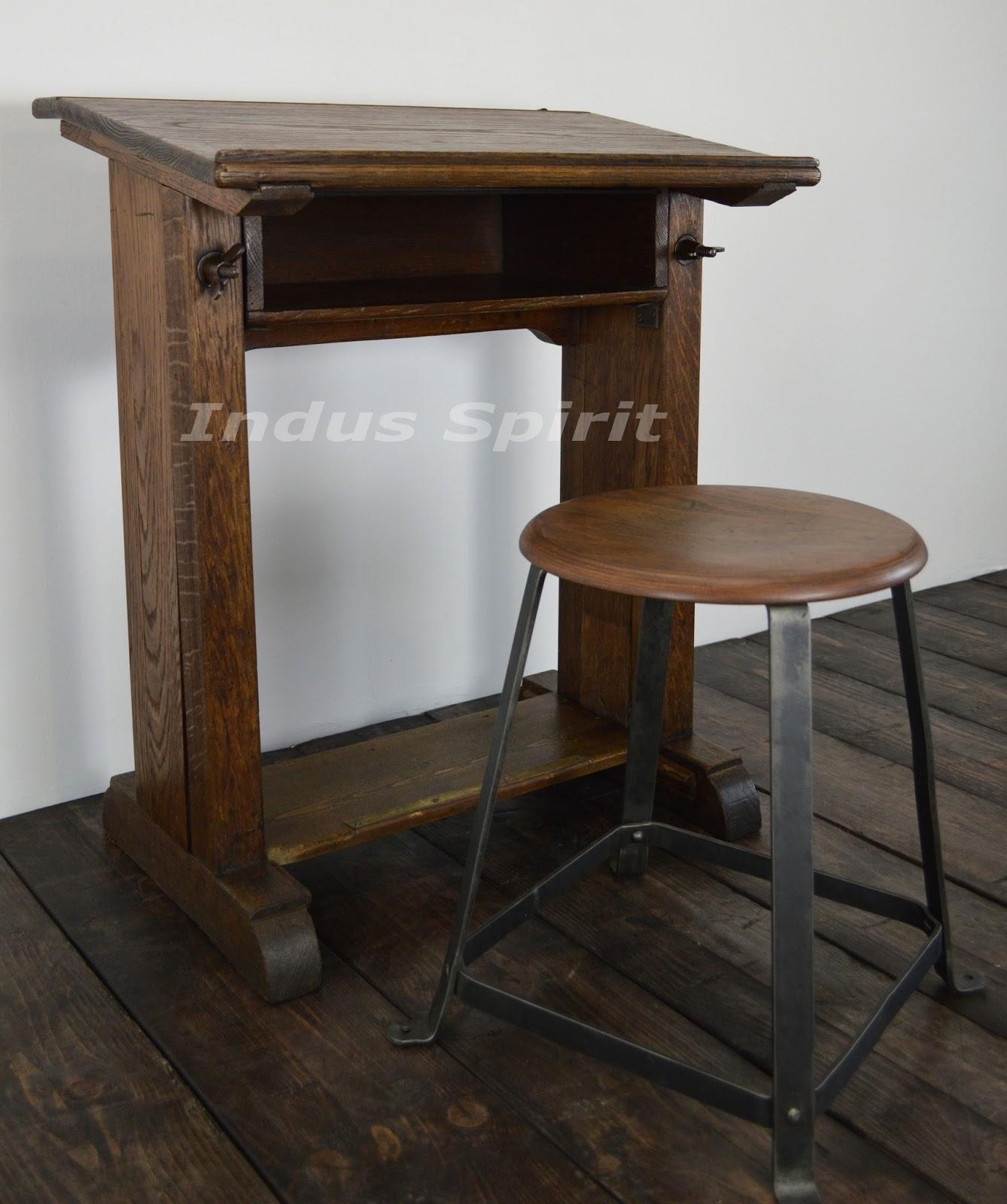 table de travail f ret. Black Bedroom Furniture Sets. Home Design Ideas