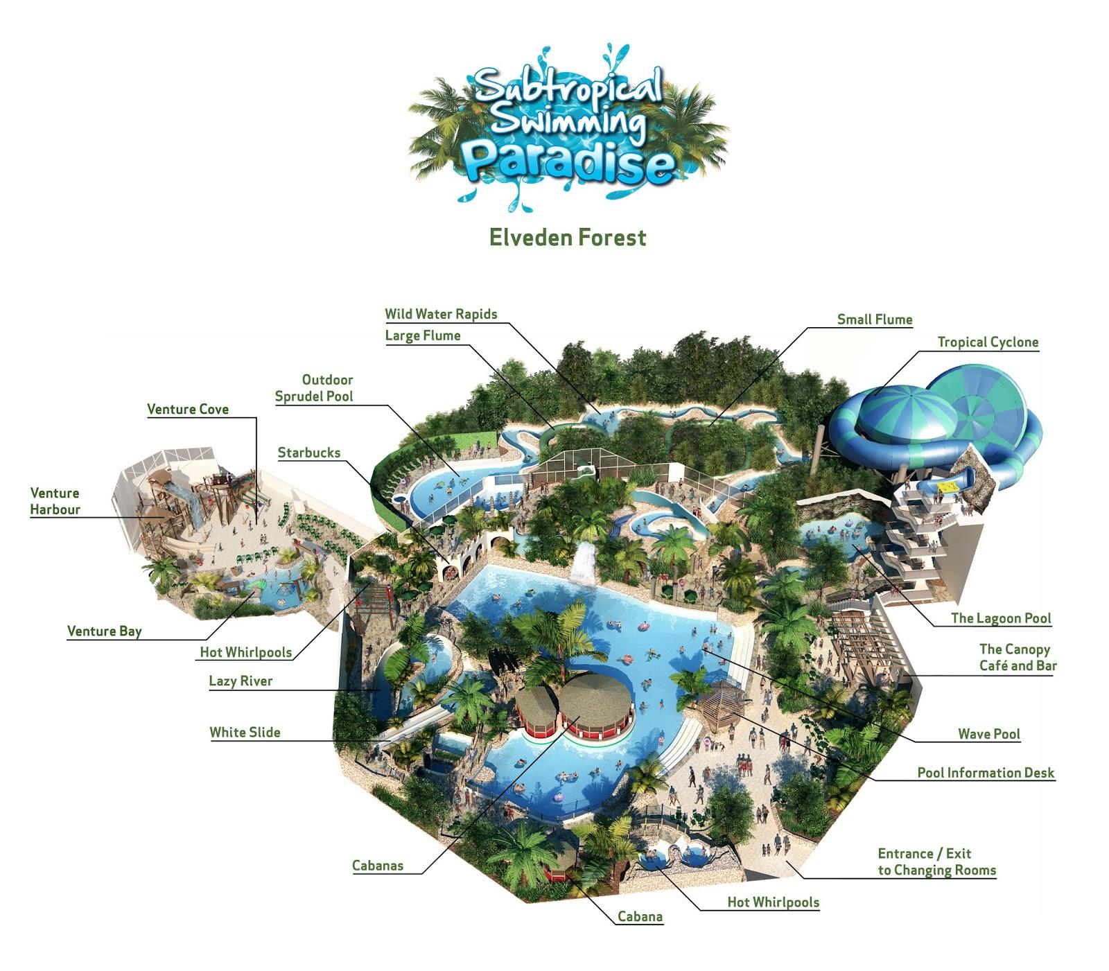 Center Parcs In Het Nieuws Making A Splash Center Parcs Unveils New Venture Cove De Engels