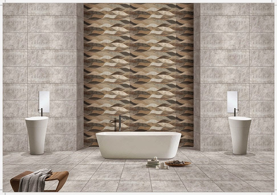 Foundation dezin decor bathroom high lighter tiles for Bathroom designs kajaria
