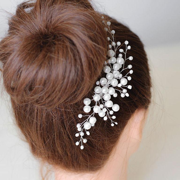 Украшения для волос на короткие волосы фото