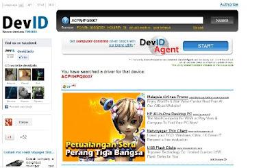 devid.info Cara Mudah Mencari dan dan Download Driver Laptop