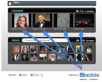 Közösségi háló - Facebook fotók új köntösben (Pixable)