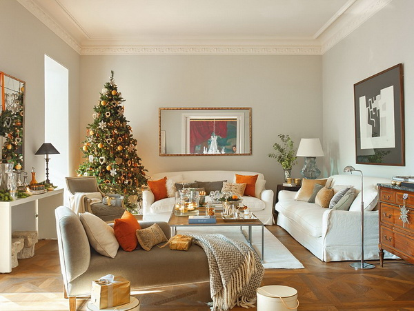 Spanish christmas decorations for modern home ideas for for Christmas home decorations pictures