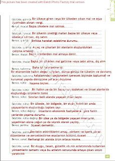 6. Sınıf Sosyal Bilgiler Altın Yayınları Öğrenci Çalışma Kitabı Cevapları Sayfa 107