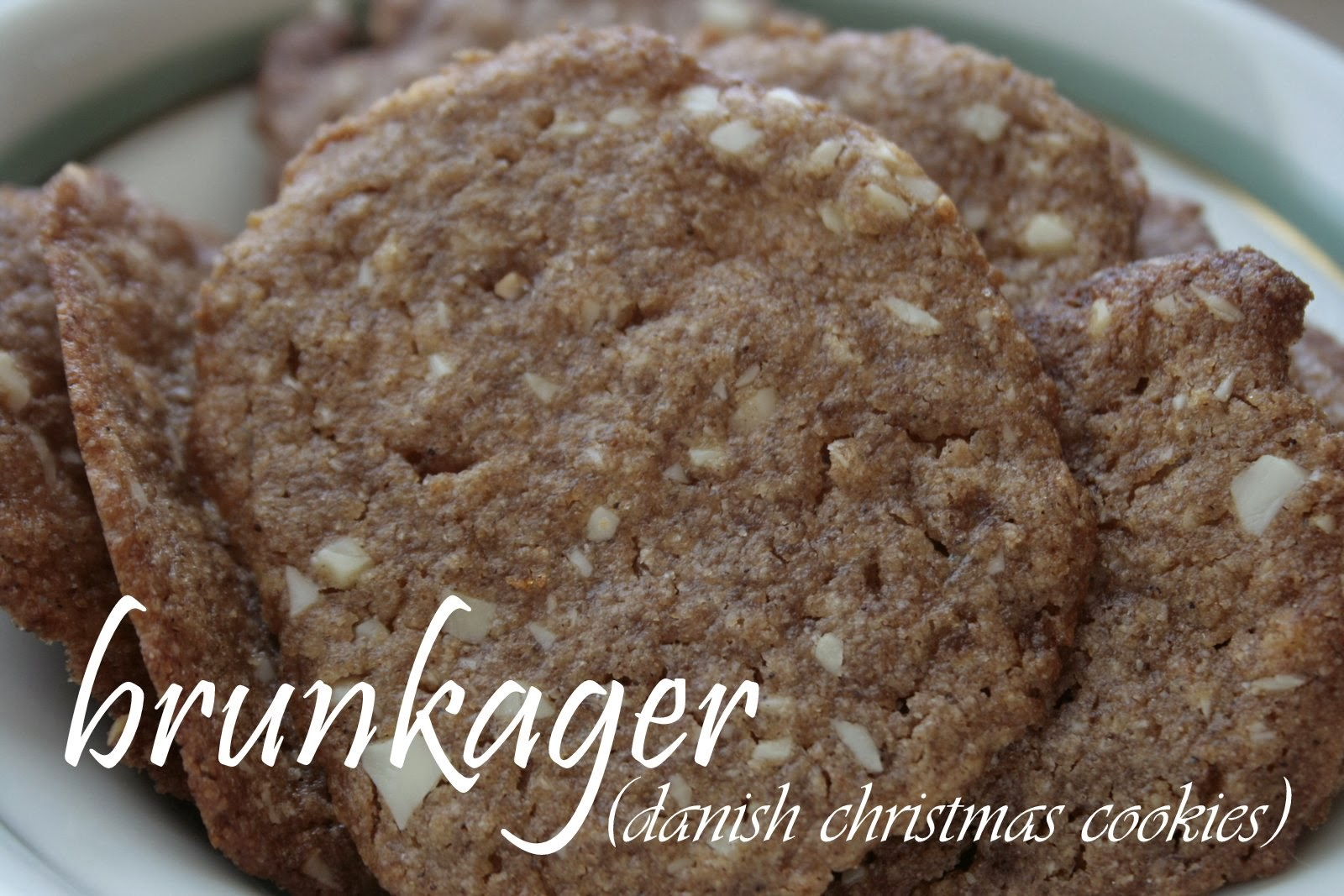 Our Carlson Life Milling Mondays Brunkager Danish Christmas Cookies