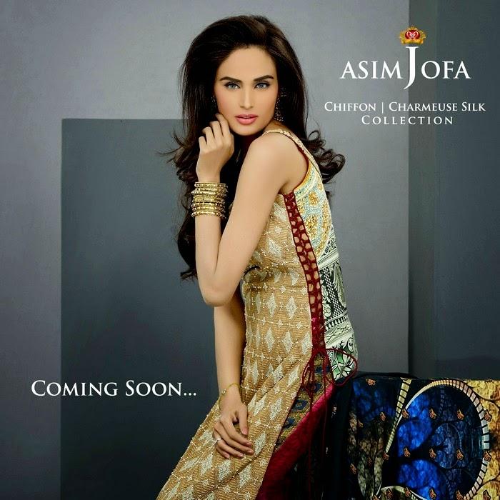 Asim Jofa - Eid Collection [Chiffon - Charmeuse Silk]