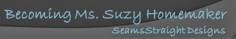 Becoming Ms. Suzy Homemaker