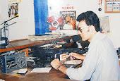 Micrófono y controles técnicos