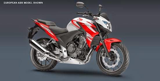 The New Honda CB500F 2015
