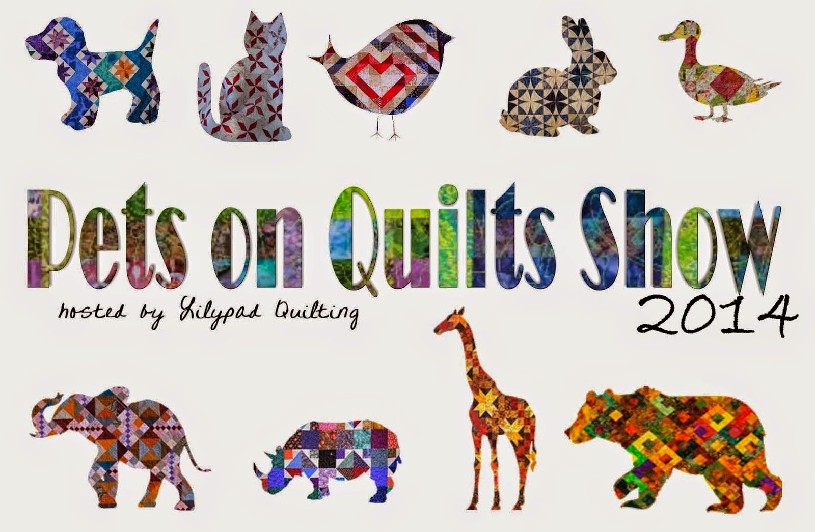 Pets on Quilts 2014