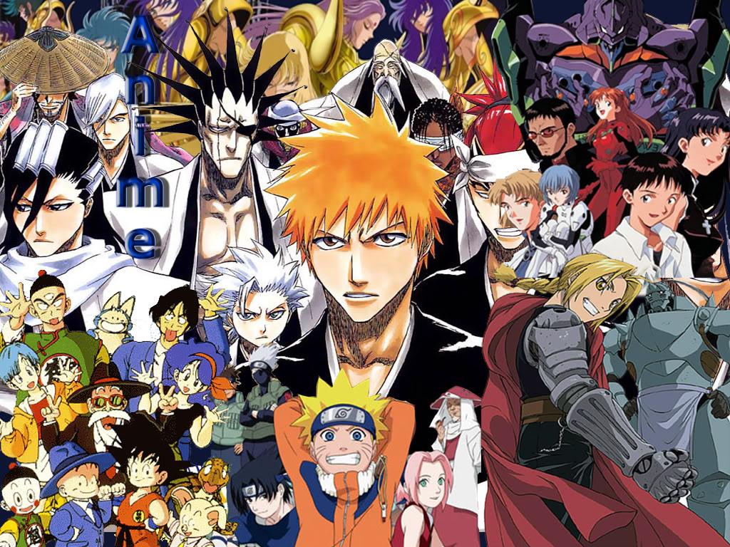 Anime terkenal yang jalan ceritanya sangat tidak masuk akal