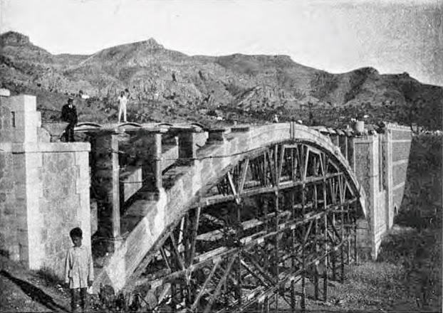 pizarra en el recuerdo el puente sobre el r o guadalhorce