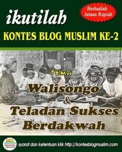 """Kontes Blog Muslim II : """"Walisongo & Teladan Sukses Berdakwah"""""""