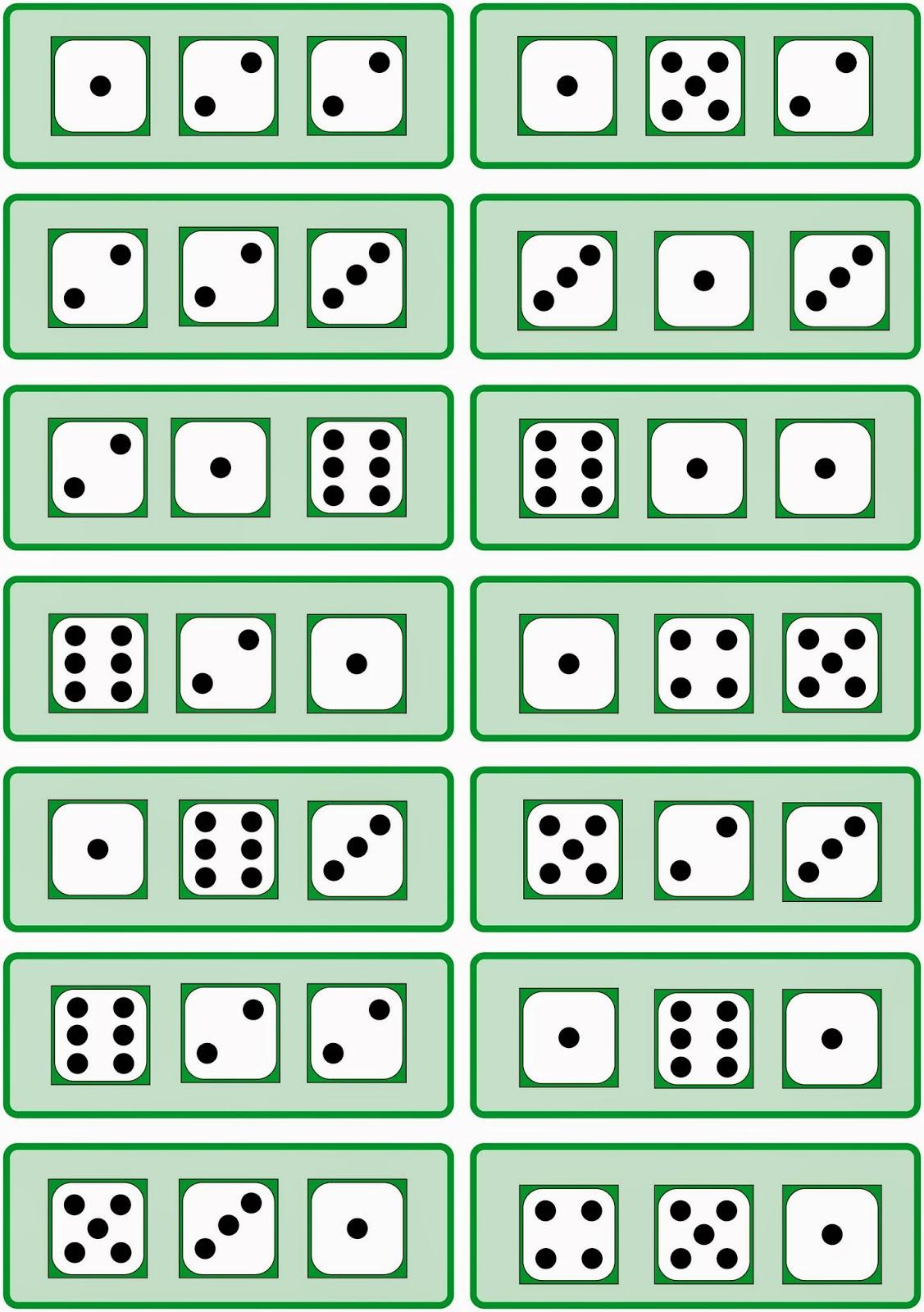 lernst252bchen drei w252rfelbilder anzahlen erfassen