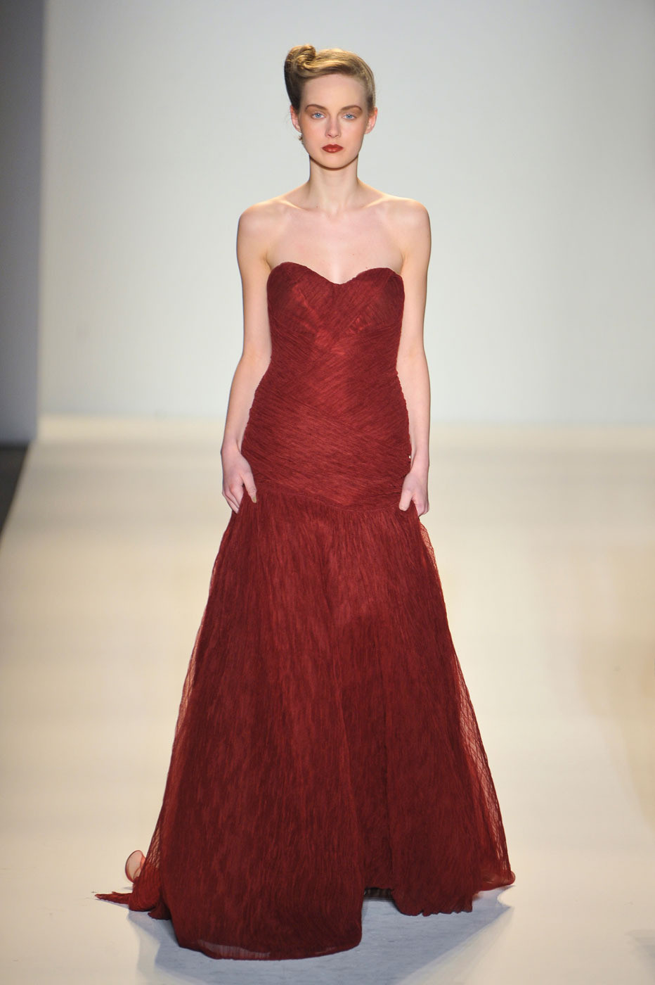 Lela Rose Fall/winter 2012 | red trend | inspiration