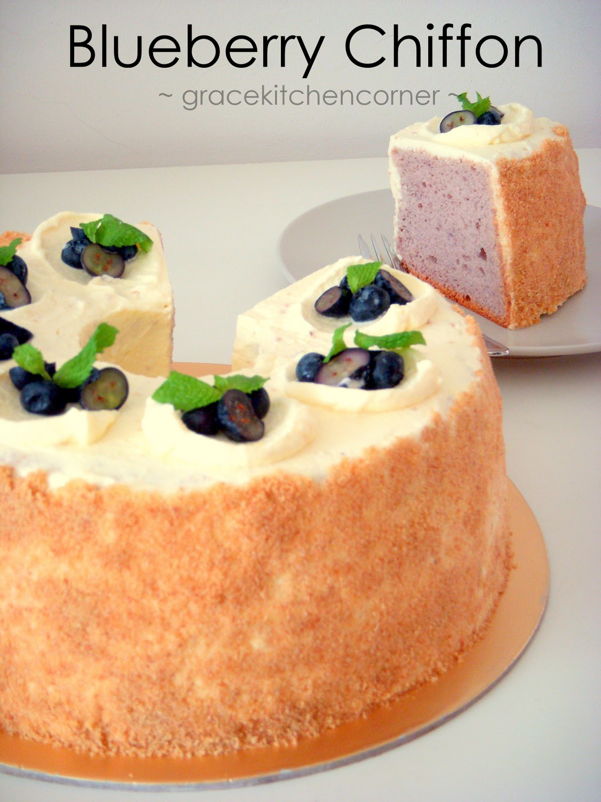 Chiffon Cake Recipe Cm