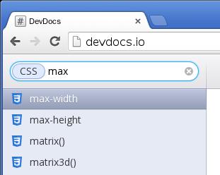 DevDocs.io 文件查閱工具