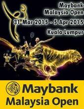 Keputusan Pusingan Pertama Badminton Terbuka Malaysia 2015