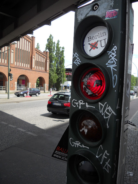 Berlin streetlight