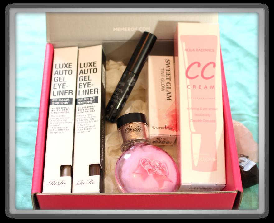 겟잇뷰티박스 by 미미박스 memebox beautybox # special #17 K-Style unboxing review preview box look inside