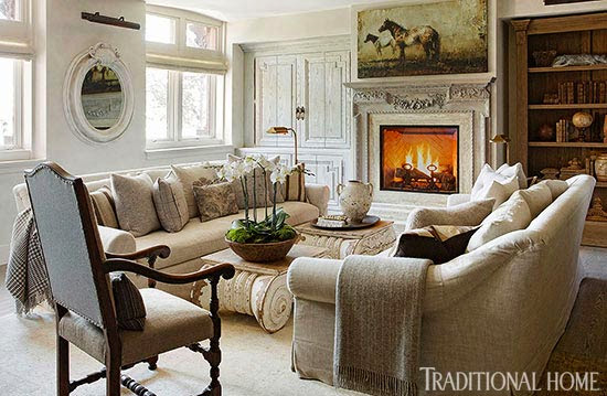 The Look for Less: Traditional Home Visits Designer Joseph Abboud Part ...