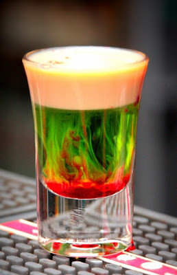 fallen froggie cocktail