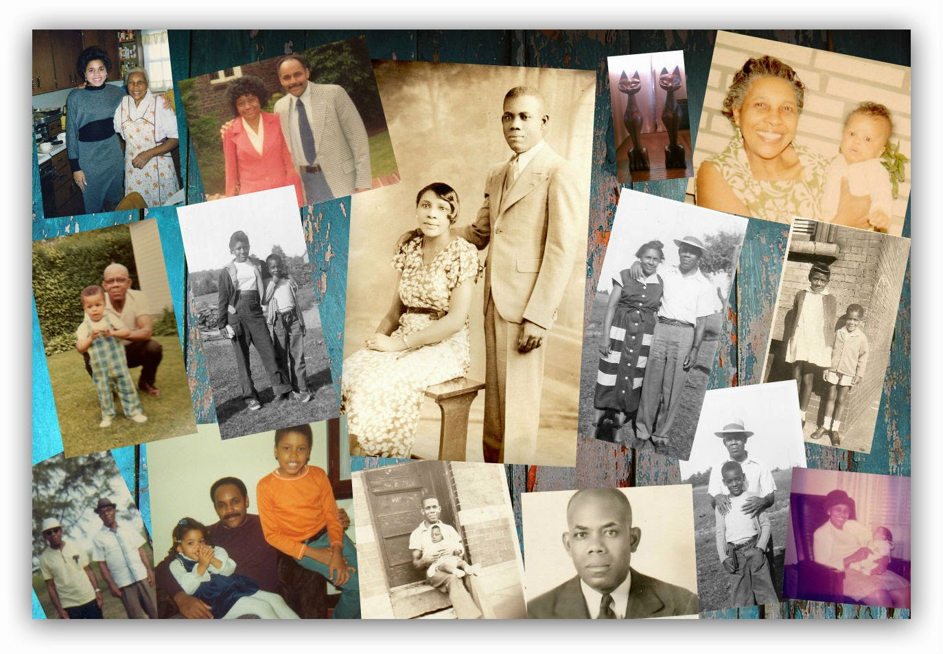 Another Memory Board --Murrell Family  --How Did I Get Here? My Amazing Genealogy Journey