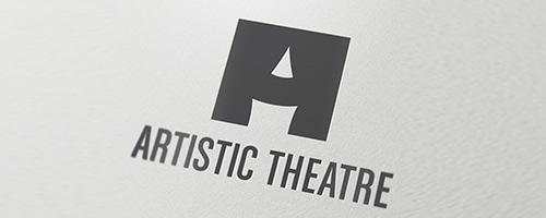 Artistic Theatre Logo Design