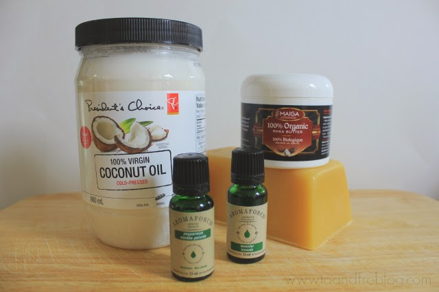 homemade lotion bar ingredients