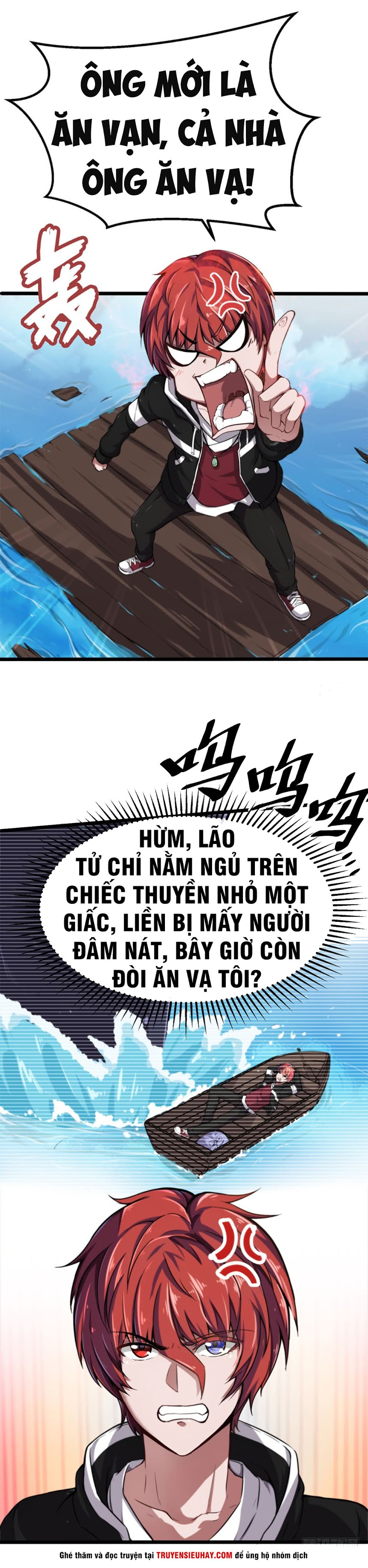 Đô Thị Âm Dương Tiên Y chap 1 - Trang 4