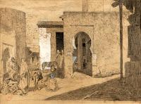 MARIANO FORTUNY Zoco en Tánger c. 1870