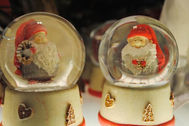 Bolas de nieve decorativas