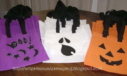 MayMig Artes Manuales: Cotillones para el Halloween