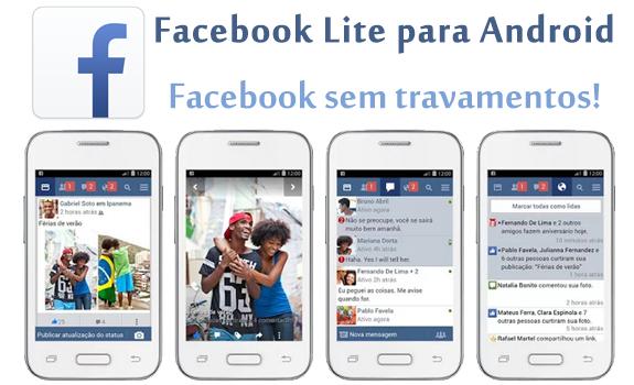 Facebook Lite: O Facebook Sem Travamentos no Android
