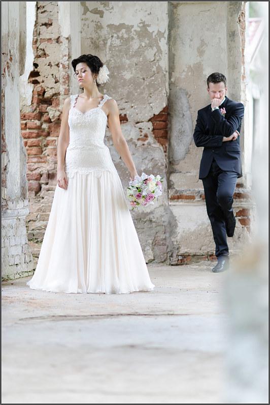 klasikinė vestuvinė fotosesija