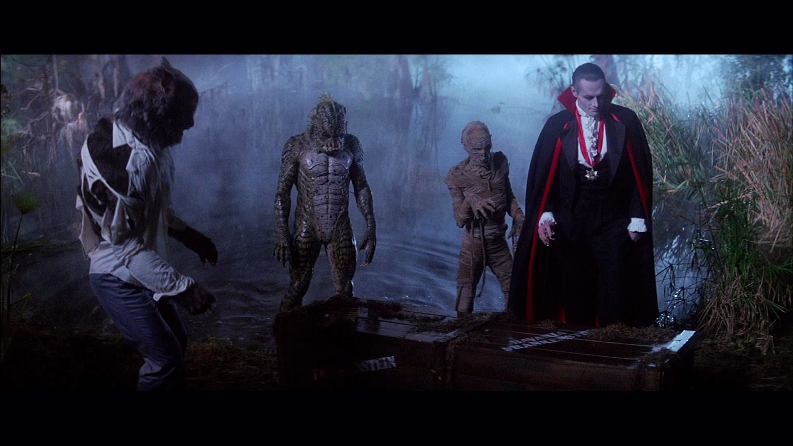 Wolfman vs Dracula vs Mummy vs Black Lagoon Creature