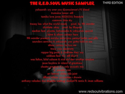 The R.E.D.SOUL Music Sampler 3rd Edition