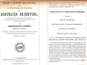 Bases y puntos de partida para la organización política de la República Argentina (1852)